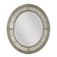 Savona Rococo Oval Mirror