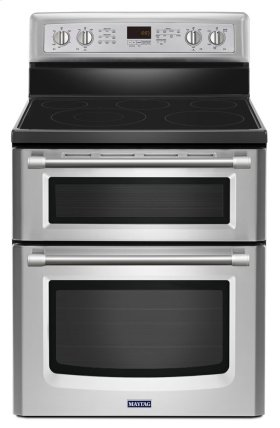 30-inch Wide Double Oven Electric Range with Power Element - 6.7 cu. ft.