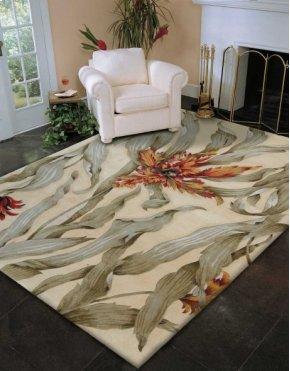 TROPICS TS01 IV RECTANGLE RUG 8' x 11'