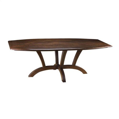 Regency Boat Shaped Table