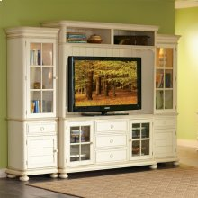 Placid Cove - Hutch - Honeysuckle White Finish