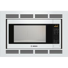 500 Series Built-In Microwave Oven 24'' White, Door Hinge: Left