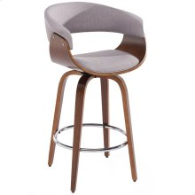"""Holt 26"""" Counter Stool in Grey"""