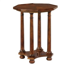 RED HOT BUY! BE HAPPY! European Legacy Pillar End Table