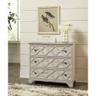 Madison - Three Drawer Bachelor Chest - Rustic White Finish Product Image