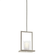 Triad Collection 1 Light Pendant  Classic Pewter Finish