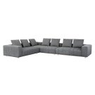 Flora Sectional - Charcoal Product Image