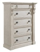 Arch Salvage Jackson Drawer Chest - Parchment Product Image