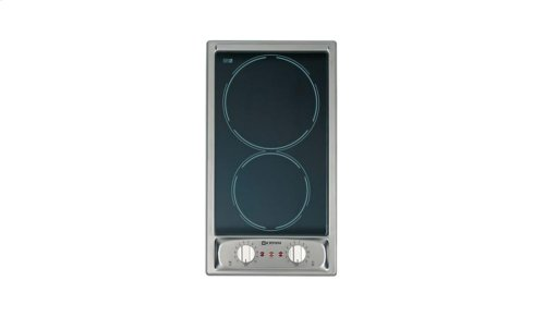 """Stainless Steel 12"""" Electric Ceramic Smooth Top - 220 Volt"""