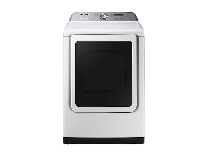 Samsung7.4 Cu. Ft. Gas Dryer With Steam Sanitize+ In White