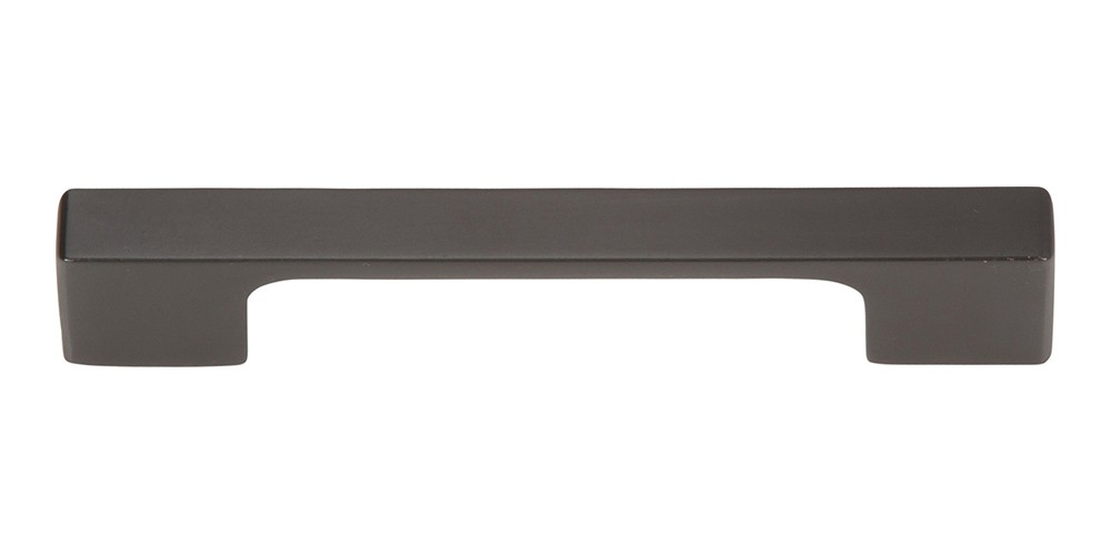 Thin Square Pull 3 3/4 Inch (c-c) - Modern Bronze