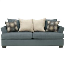 Signature Design by Ashley Mindy Sofa in Indigo Fabric