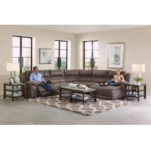 Braxton 6PC Reclining Sectional
