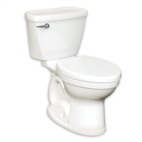 Champion 4 Right Height Round Front Toilet - 1.28 GPF - Black