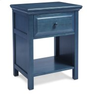 Cottage Style Nightstand in Wedgewood Blue Product Image