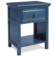 Cottage Style Nightstand in Wedgewood Blue