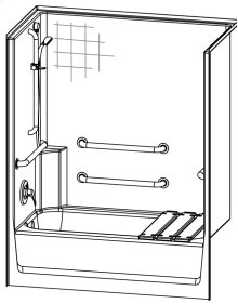 2603CTH - FreedomLine Tub-shower