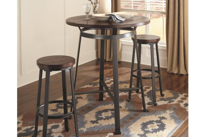 D30712 in by ashley furniture in brick nj round dining room bar table additional round dining room bar table watchthetrailerfo