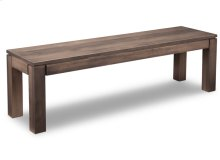 """Contempo 60"""" Leg Bench with Wood Seat"""