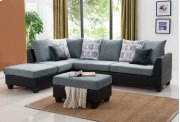 Sofa Chaise Sectional Set W/ Free Ottoman Product Image