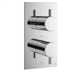 MPRO 2500 Thermo Valve Trim (3 Outlets) - Stainless
