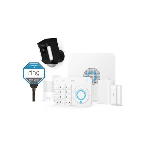 Alarm and Camera Kit, 5-Piece - White