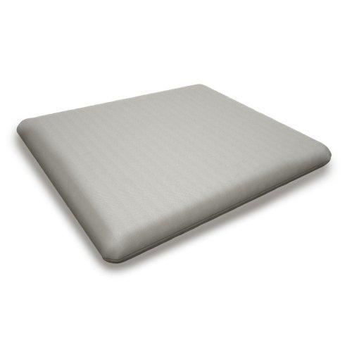 """Blend Coal Seat Cushion - 20""""D x 20""""W x 2.5""""H"""