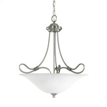 Stafford Collection Inverted Pendant 3Lt