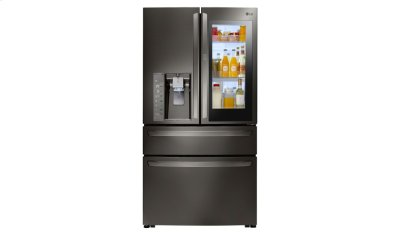 LG Black Stainless Steel Series 23 cu. ft. InstaView Door-in-Door® Counter-Depth Refrigerator Product Image