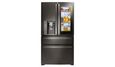 LG Black Stainless Steel Series 23 cu. ft. InstaView Door-in-Door® Counter-Depth Refrigerator Product Image
