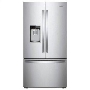 Whirlpool Whirlpool® 36-Inch Wide Counter Depth French Door-Within-Door Refrigerator - 24 Cu. Ft. - Fingerprint Resistant Stainless Steel