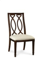 Intrigue Wood Back Side Chair Product Image