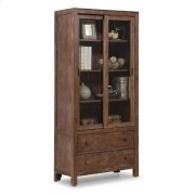 Hampton Sliding Door Bookcase Product Image
