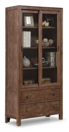 Hampton Sliding Door Bookcase