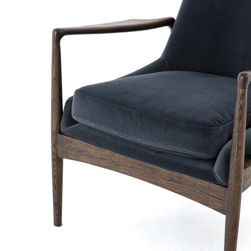 Modern Velvet Shadow Cover Braden Chair