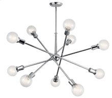 Armstrong 10 Light Chandelier Chrome