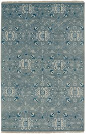 Solace Fog Hand Knotted Rugs