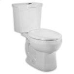 American StandardWhite H2Option Dual Flush Right Height Round Front Toilet