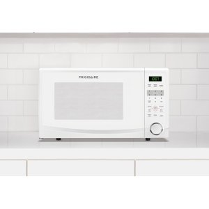 1.1 Cu. Ft. Countertop Microwave - WHITE