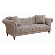 Alasdair Traditional Light Brown Sofa