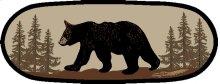 "American Destination Bearwalk Oval 26""x63"""