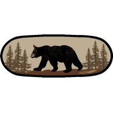 "American Destination Bearwalk Oval 26""x63"""