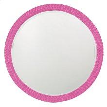 Amelia Mirror - Glossy Hot Pink