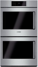 "30"" Double Wall Oven Left Swing Door Benchmark Series - Stainless Steel Product Image"