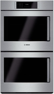 "30"" Double Wall Oven Left Swing Door Benchmark Series - Stainless Steel"
