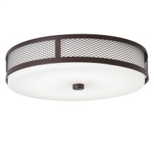 "Ceiling Space 13.25"" LED Flush Mount Olde Bronze®"