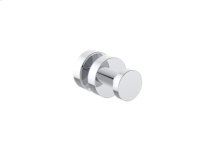 Single Glass Door Knob With Backing