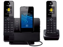 Link2Cell Digital Phone with Smartphone Integration and Answering Machine KX-PRD262B 2 Cordless Handsets