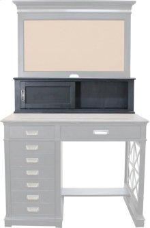 Architect's Desk Hutch Compartment