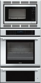 30 inch Masterpiece® Series Triple Oven (oven, convection microwave and warming drawer) with professional handle MEDMCW31JP Product Image